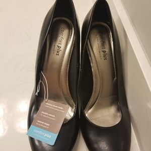 New black heels wide width